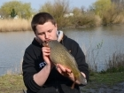 Timmy Axten 6lbs 0oz Common Carp, Mainline Grange CSL Milky Toffee.