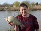 Timmy Axten 3lbs 0oz Bream, Nash Scopex.. Caught this on feeder rod!
