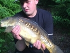 Timmy Axten 10lbs 0oz Mirror Carp. Short evening surface fishing session with Dad, nice few scraper doubles on floaters