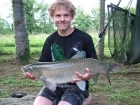 Daniel Smith 17lbs 10oz Grass Carp from Etang de Cosse using Solar Club Mix (Squid & Octopus, Stimulin and Anchovy).