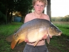 Daniel Smith 22lbs 9oz Mirror Carp from Etang de Cosse using Solar Club Mix (Squid & Octopus, Stimulin and Anchovy).