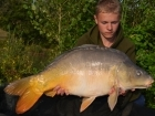Daniel Smith 23lbs 12oz Mirror Carp from Mas Bas - Angling Lines Holidays using Quest Baits Rahja Spice.. In total we had around 100 fish between us in two weeks fishing at Mas Bas. We didn't fish