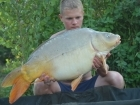 Daniel Smith 27lbs 5oz Mirror Carp from Mas Bas - Angling Lines Holidays using Quest Baits Rahja Spice.. In total we had around 100 fish between us in two weeks fishing at Mas Bas. We didn't fish all