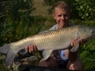 Daniel Smith 15lbs 5oz Grass Carp from Mas Bas - Angling Lines Holidays using Quest Baits Rahja Spice.. In total we had around 100 fish between us in two weeks fishing at Mas Bas. We didn't fish all