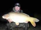 Matt Collins 29lbs 0oz Mirror Carp, Bankside Tackle's 20mm D-Liver.. For more info: www.frenchcarpandcats.com