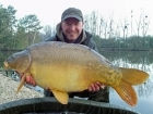 Matt Collins 27lbs 4oz Mirror Carp, Bankside Tackle's 20mm D-Liver.. For more info: www.frenchcarpandcats.com