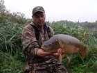 Adrian Knowless 21lbs 6oz Mirror Carp, dynamite.. weeded  me for a good ten mins manged to win the battle