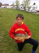 Troy Jones 7lbs 9oz Mirror Carp. orange pellet 6g waggler