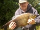 7lbs 14oz Bream from Tontine Lake. Waggler