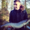 Joe Barnacle 9lbs 0oz Pike from Staffs And Worcester Canal