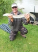 Wally Pickering 3lbs 9oz Eel. got this on mackerel  head , only went for this just to target something else for a change.