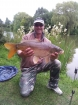 15lbs 3oz carp common from tetney lincolnshire. nice looking carp tetney campsite. 15 lb 3oz