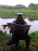 Wally Pickering 7lbs 3oz 1dr pike. got this little beauty on the river idle, really good fight on something so small...
