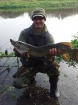 7lbs 7oz Pike from river idle. the river idle was running really high today as I got this pike on deadbait..well impressed with the colours...