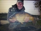 21lbs 3oz Common Carp from river idle. hi got this commom carp on six hair rigged sweetcorn from the river idle..