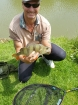 Wally Pickering 2lbs 2oz Perch from tetney campsite. hi this perch was one of four on the day at targeting those lovely perch.on live bait gudgen..2lb  2oz. well chuffed...