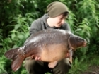 Callum Mcinerney-riley 23lbs 4oz Mirror Carp, Nash Scopex Squid Liver.. I really didn't expect the left rod to rip off that morning but sure enough it did... twice!