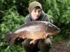 Callum Mcinerney-riley 17lbs 0oz Common Carp, Nash Scopex Squid Liver Plus.. I really didn't expect the left rod to rip off that morning but sure enough it did... twice!
