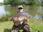 19lbs 4oz Carp from Heronbrook fisheries using Mainline New Grange.