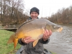 Colin Meneaud 20lbs 0oz Mirror Carp, Carp Cuisine 'Banana creme' 18mm.