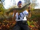 11lbs 9oz pike from local venue. Another Super River Athlete