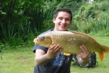 20lbs 2oz Ghost Common Carp from Private Syndicate using Mainline - New Grange.
