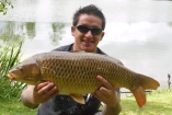 16lbs 8oz Common Carp from Private Syndicate using Mainline New Grange.