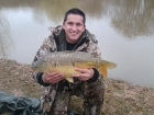 9lbs 12oz Mirror Carp from marchamley fishery using Dynamite Baits - The Source.