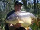 22lbs 4oz Mirror Carp from Private Syndicate using Nutrabaits Pineapple Pop-up.