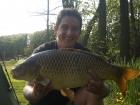 19lbs 1oz Common Carp from Private Syndicate using Nutrabaits Pineapple Pop-up.