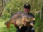 31lbs 0oz Mirror Carp from Private Syndicate using Mainline The Cell.