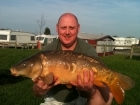Mark Lycett 11lbs 3oz Mirror Carp from Normans pool. Caught using a 3ft 6