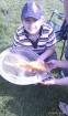4lbs 3oz golden carp from melverly farm. My son caught this