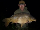 Kevin Righton 24lbs 5oz Mirror Carp from Rookley Country Park using C.C Moore's Live System.