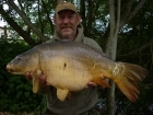 Kevin Righton 29lbs 15oz Mirror Carp from Rookley Country Park using C.C Moore's Live System.