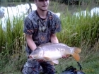 Steven Nott 17lbs 5oz Mirror Carp from Spring Rock Fishery