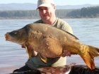 Allan Pike 39lbs 4oz mirror Carp, Nutrabaits.. Just got back from my holiday in Africa, Its a fantastic place and 