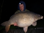 Linda Miller 36lbs 0oz Common Carp from millers french fishing holidays- Etang Hirondelle