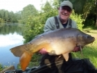Linda Miller 38lbs 0oz Mirror Carp from millers french fishing holidays- Etang Hirondelle