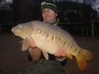 No Wait On Bait 17lbs 0oz Mirror Carp, ( No Wait On Bait ) Scopex Cream Bottom Bait / Appretite Pop Up.