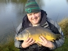 12lbs 8oz Mirror Carp from Millride Fishery using Nash.