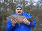 7lbs 14oz Common Carp from Tackeroo using Pyramid tutti frutti.
