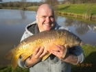 17lbs 7oz Mirror Carp from Millride Fishery using Mainline Cell.. MY NEW PB!!!