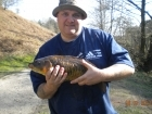 6lbs 8oz Mirror Carp from Tackeroo using Mainline Cell.