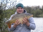 Glyn Jones 12lbs 1oz Common Carp from Turf pool using Mainline Cell.