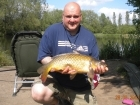 Glyn Jones 9lbs 6oz Common Carp from Turf pool using Mainline Fusion.