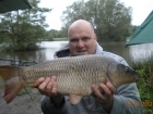 Glyn Jones 11lbs 1oz Common Carp from Turf pool using Mainline Cell.