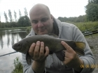 Glyn Jones 2lbs 14oz Tench from Turf pool using Mainline Cell.