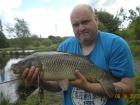 10lbs 14oz Common Carp from Turf pool using Mainline Cell.