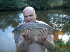 9lbs 1oz Common Carp from Millride Fishery using Dynamite Green Lipped Mussel.